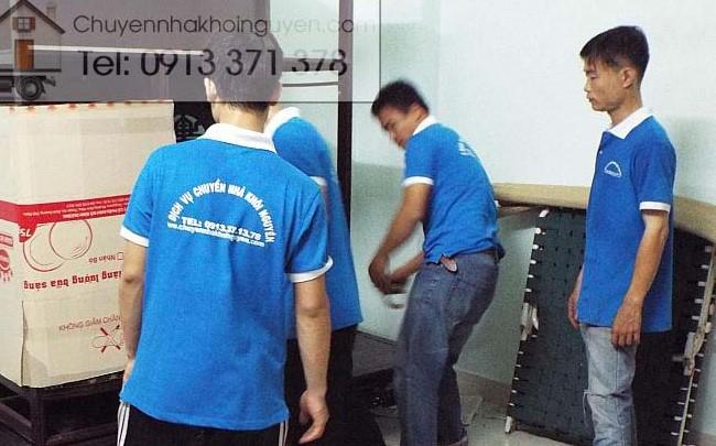 Chuyển văn phòng trọn gói giá rẻ quận Gò Vấp-Khôi Nguyên