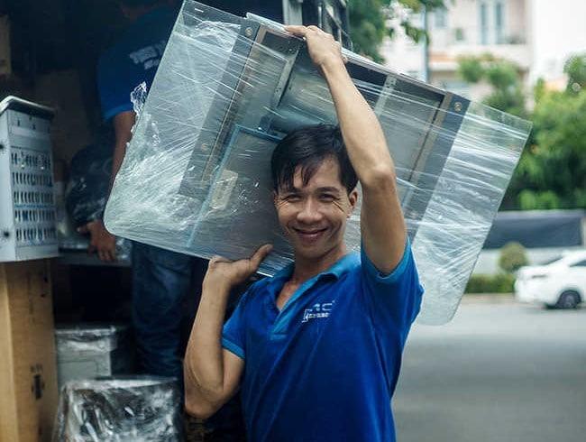 Chuyển văn phòng trọn gói giá rẻ quận Phú Nhuận-Phú Mỹ Express
