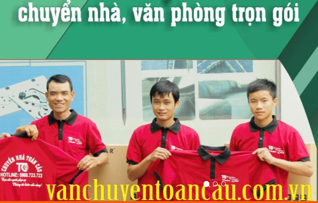 Chuyển văn phòng trọn gói giá rẻ quận Phú Nhuận-Toàn Cầu
