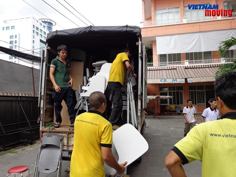 Chuyển văn phòng trọn gói giá rẻ quận Phú Nhuận-Vietnam-Moving