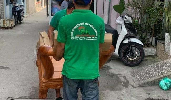 Chuyển văn phòng trọn gói giá rẻ quận Tân Bình-Taxi Tải 24H