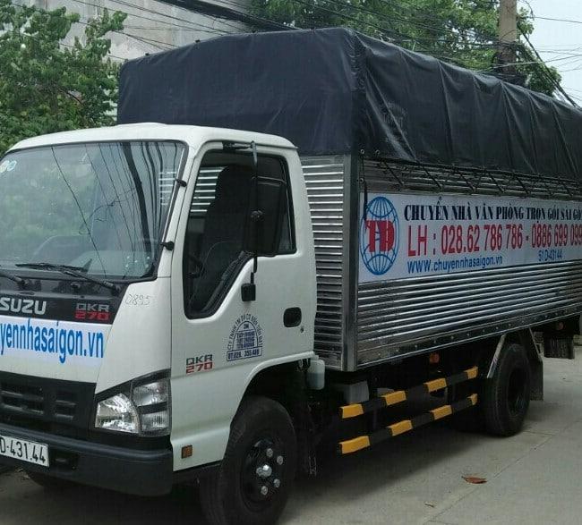 Chuyển văn phòng trọn gói giá rẻ quận Tân Bình-Tiến Đạt