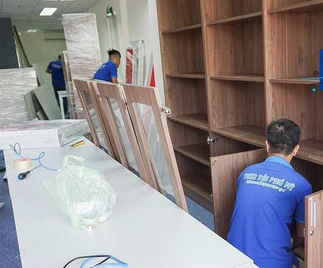 Chuyển văn phòng trọn gói giá rẻ quận Tân Phú-Phú Mỹ Express