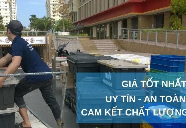 Chuyển văn phòng trọn gói giá rẻ quận Tân Phú-Quang Minh