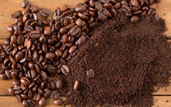 Cách tẩy tế bào chết tại nhà-bã cà phê