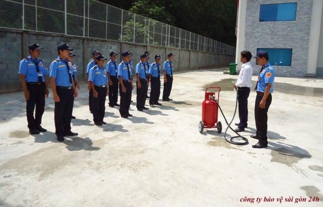 Công ty bảo vệ uy tín huyện Nhà Bè-Bảo vệ Sài Gòn 24H
