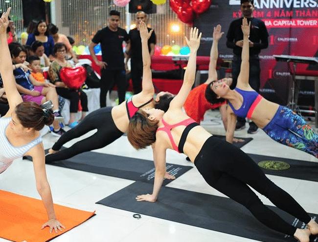 Địa chỉ học Yoga uy tín quận 6-California Fitness & Yoga