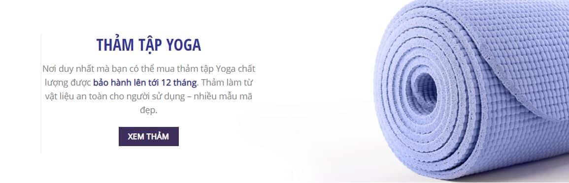 Địa chỉ mua thảm tập Yoga uy tín TPHCM-Sportvn