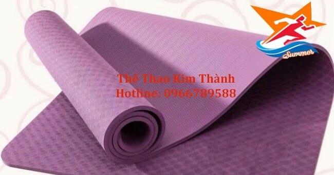 Địa chỉ mua thảm tập Yoga uy tín TPHCM-Thể thao kim thành