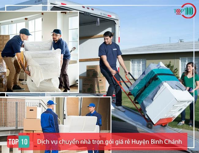 Dịch vụ chuyển nhà Huyện Bình Chánh