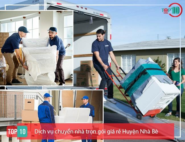 Dịch vụ chuyển nhà huyện Nhà Bè