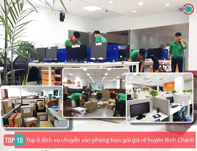 Dịch vụ chuyển văn phòng huyện Bình Chánh