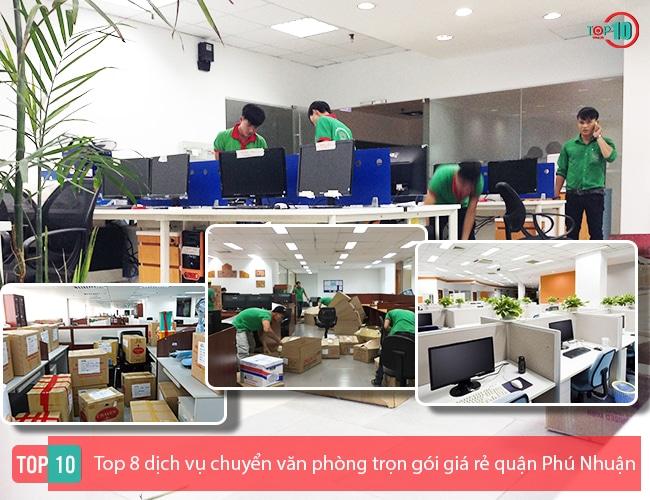 Dịch vụ chuyển văn phòng quận Phú Nhuận