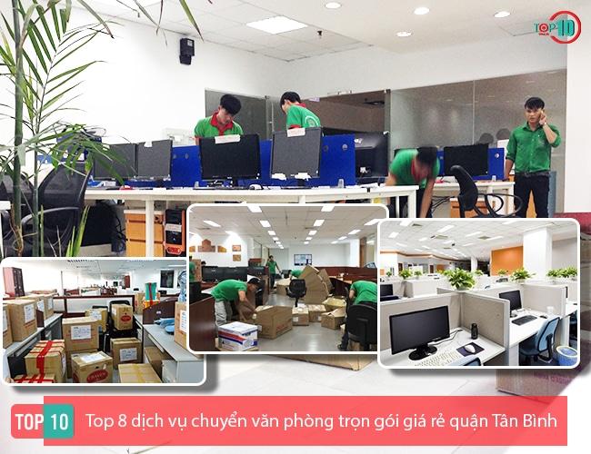 Dịch vụ chuyển văn phòng Tân Bình