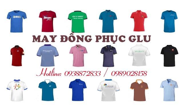 Dịch vụ may áo thun sự kiện-áo thun quảng cáo giá rẻ TPHCM-Đồng phục GLu