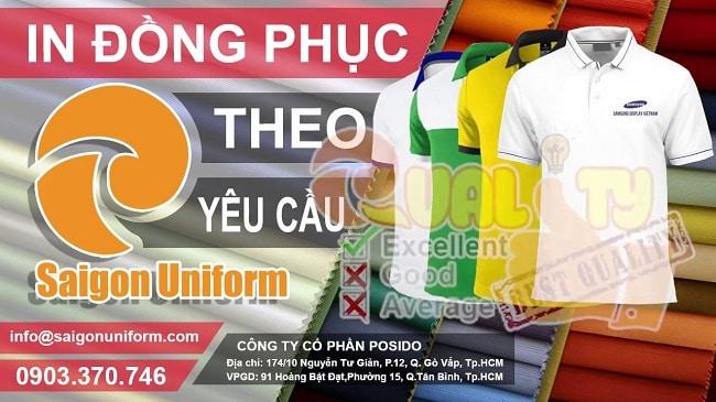 Dịch vụ may áo thun sự kiện-áo thun quảng cáo giá rẻ TPHCM-Saigon Uniform