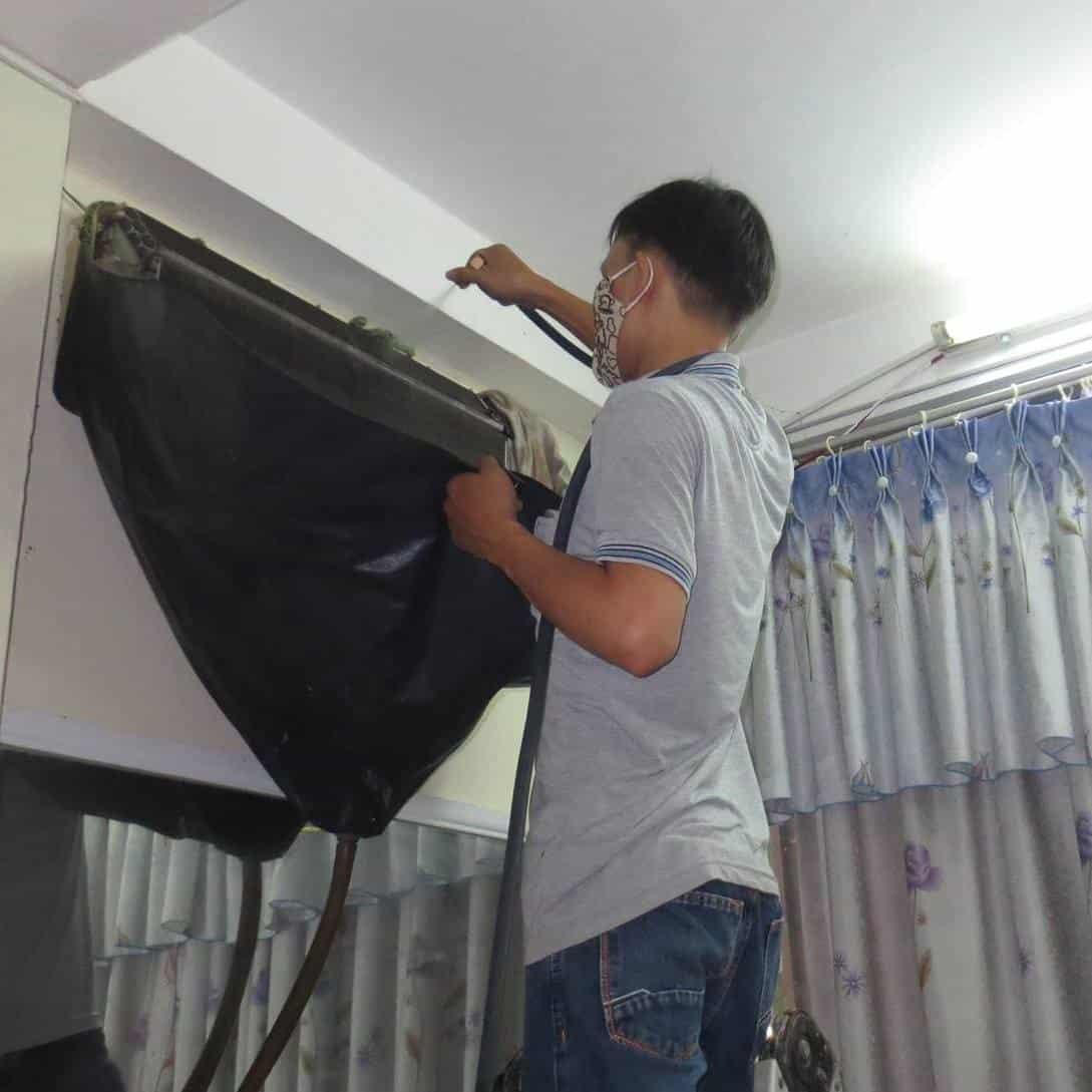 Dịch vụ vệ sinh máy lanh uy tín quận 2-Bệnh viện điện lạnh