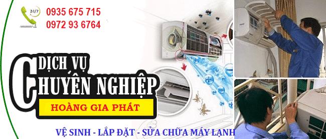 Dịch vụ vệ sinh máy lanh uy tín quận 3-Hoàng Gia Phát