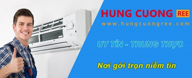Dịch vụ vệ sinh máy lạnh uy tín quận 4-Hùng Cường