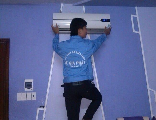 Dịch vụ vệ sinh máy lạnh uy tín quận 5-Lê gia Phát