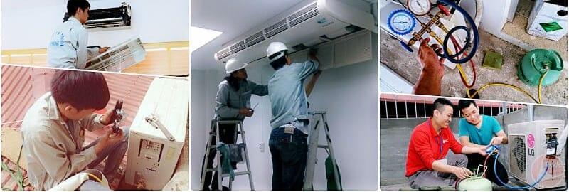 Dịch vụ vệ sinh máy lạnh uy tín quận 8-Hoàng Gia Phát