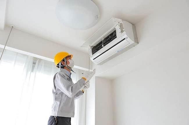 Dịch vụ vệ sinh máy lạnh uy tín quận 8-Hùng Cường