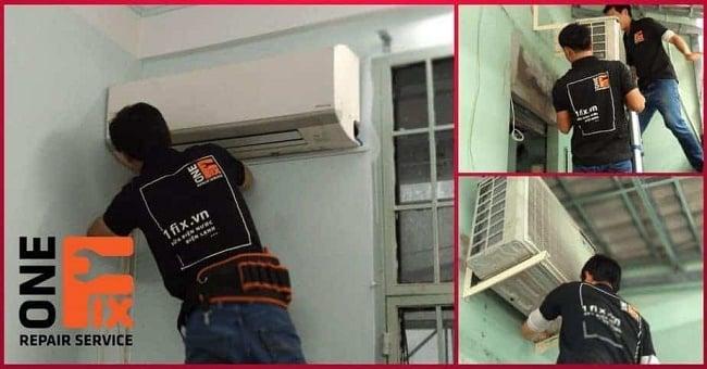 Dịch vụ vệ sinh máy lạnh uy tín TPHCM-1FIX
