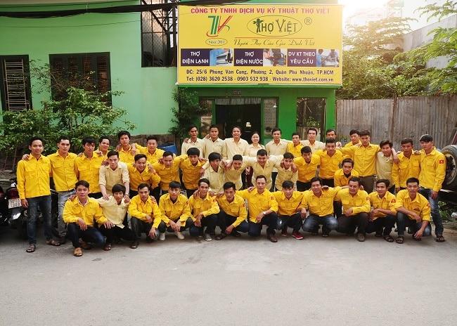 Dịch vụ vệ sinh máy lạnh uy tín TPHCM-Thợ Việt