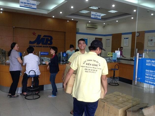 Kiến vàng HCM chuyển văn phòng cho ngân hàng Maritime Bank