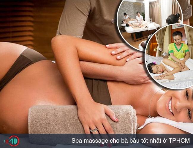 Top 8 spa massage cho bà bầu ở TPHCM tốt nhất