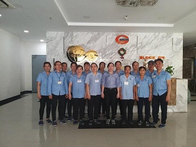 Đội ngũ nhân viên Pan Pacific Sài Gòn