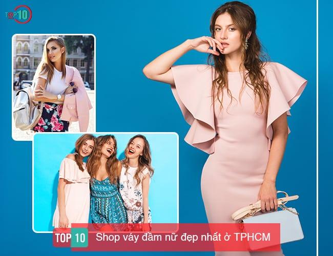 Top 10 Shop váy nữ đẹp nhất ở TPHCM
