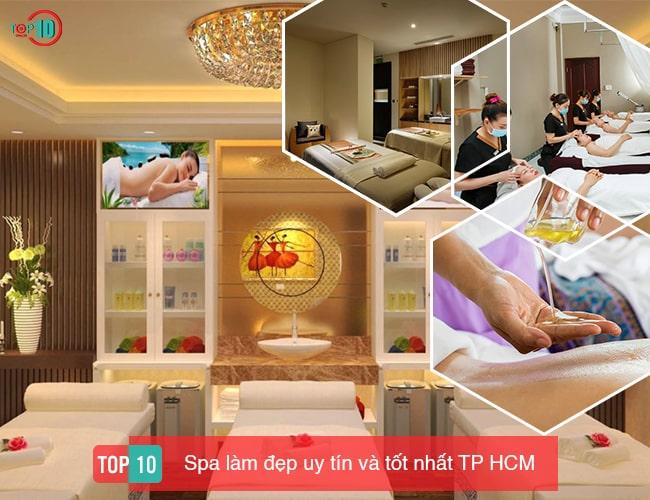 Top 10 Spa làm đẹp uy tín và tốt nhất TPHCM