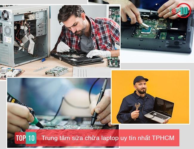 Top trung tâm sửa chữa laptop tphcm
