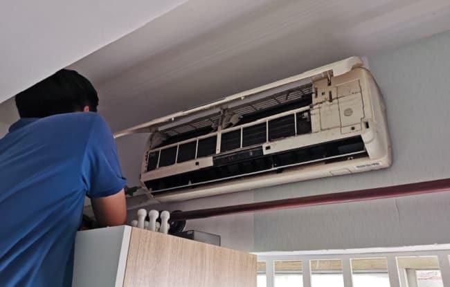 Vệ sinh máy lạnh Quận 9 -Trung Tín
