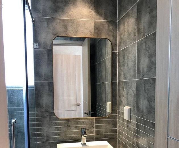 gương tắm