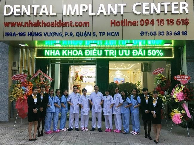 Nha khoa bọc răng sứ uy tín thành phố Hồ Chí Minh-Dental Implant Center