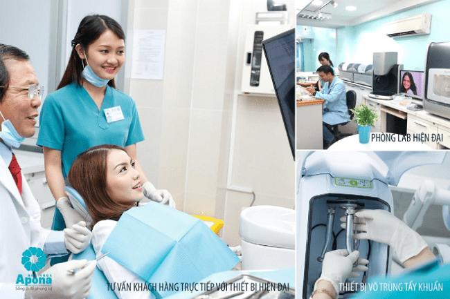 Nha khoa bọc răng sứ uy tín thành phố Hồ Chí Minh-Nha khoa Apona