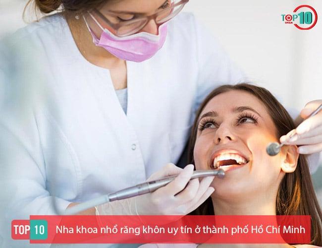 Nha khoa nhổ răng khôn uy tín ở TPHCM