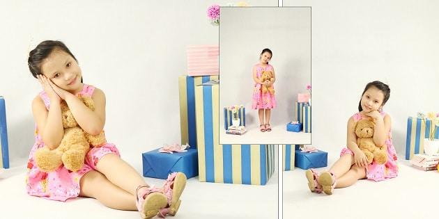 studio chụp hình cho bé