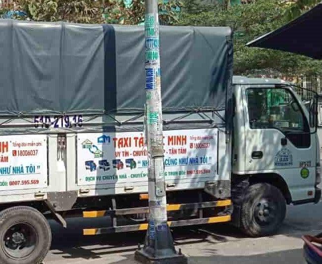 Chuyển nhà trọn gói giá rẻ huyện Hóc Môn-Đức Minh