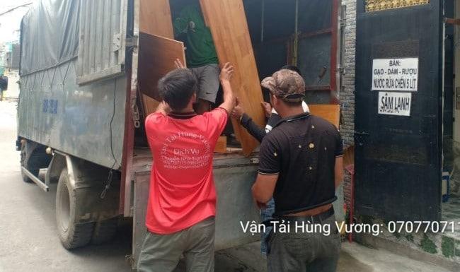 Chuyển nhà trọn gói giá rẻ huyện Hóc Môn-Hùng Vương