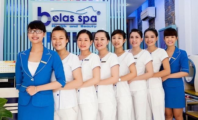 Spa trị nám uy tín quận Phú Nhuận-Belas spa