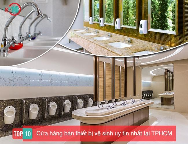 Cửa hàng bán thiết bị vệ sinh tại Hồ Chí Minh