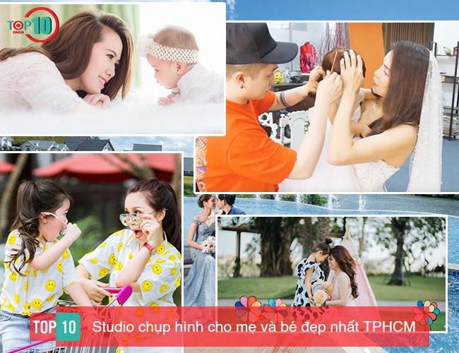 Studio chụp hình cho mẹ và bé TP Hồ Chí Minh