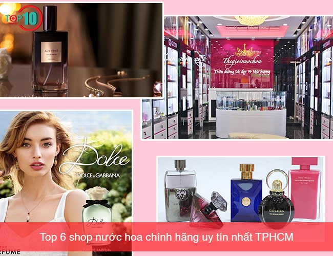 Shop nước hoa chính hãng Tại TPHCM