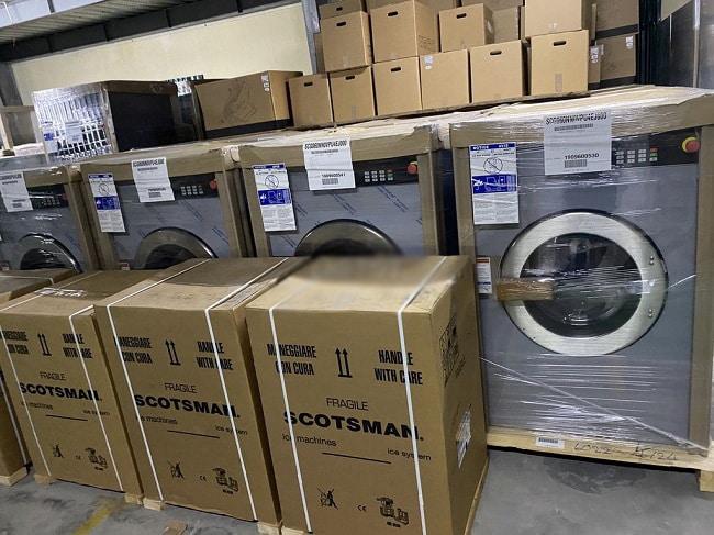 Cách đóng gói máy giặt đúng chuẩn
