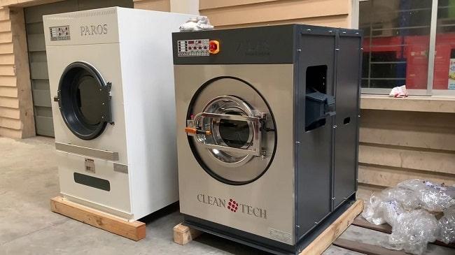 Cách vận chuyển máy giặt máy sấy