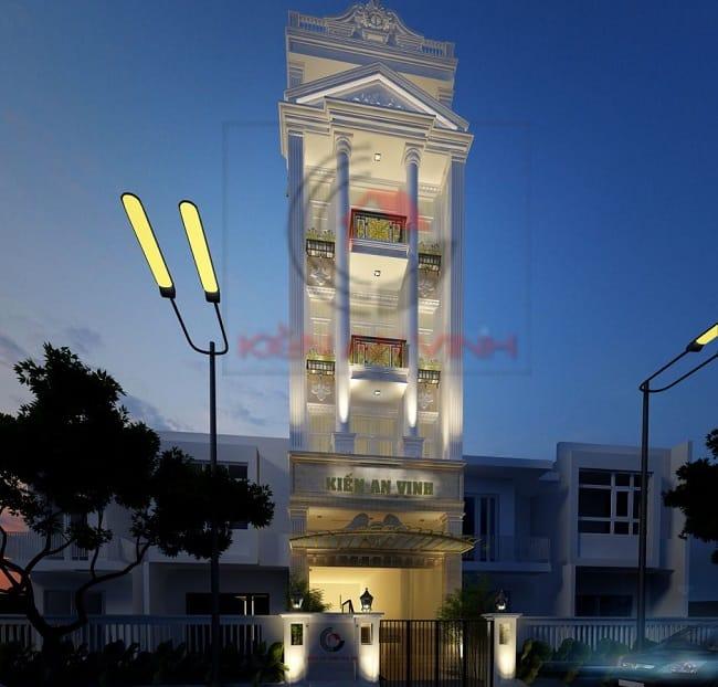 Công ty xây dựng nhà phố Kiến An Vinh