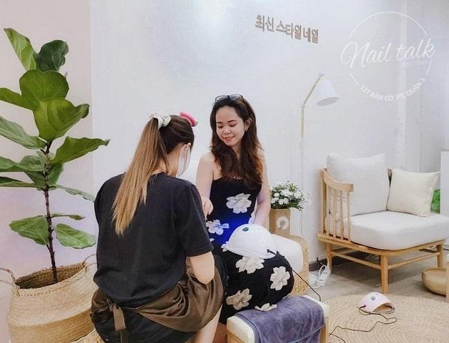 Nail Talk, tiệm nail uy tín ở Sài Gòn